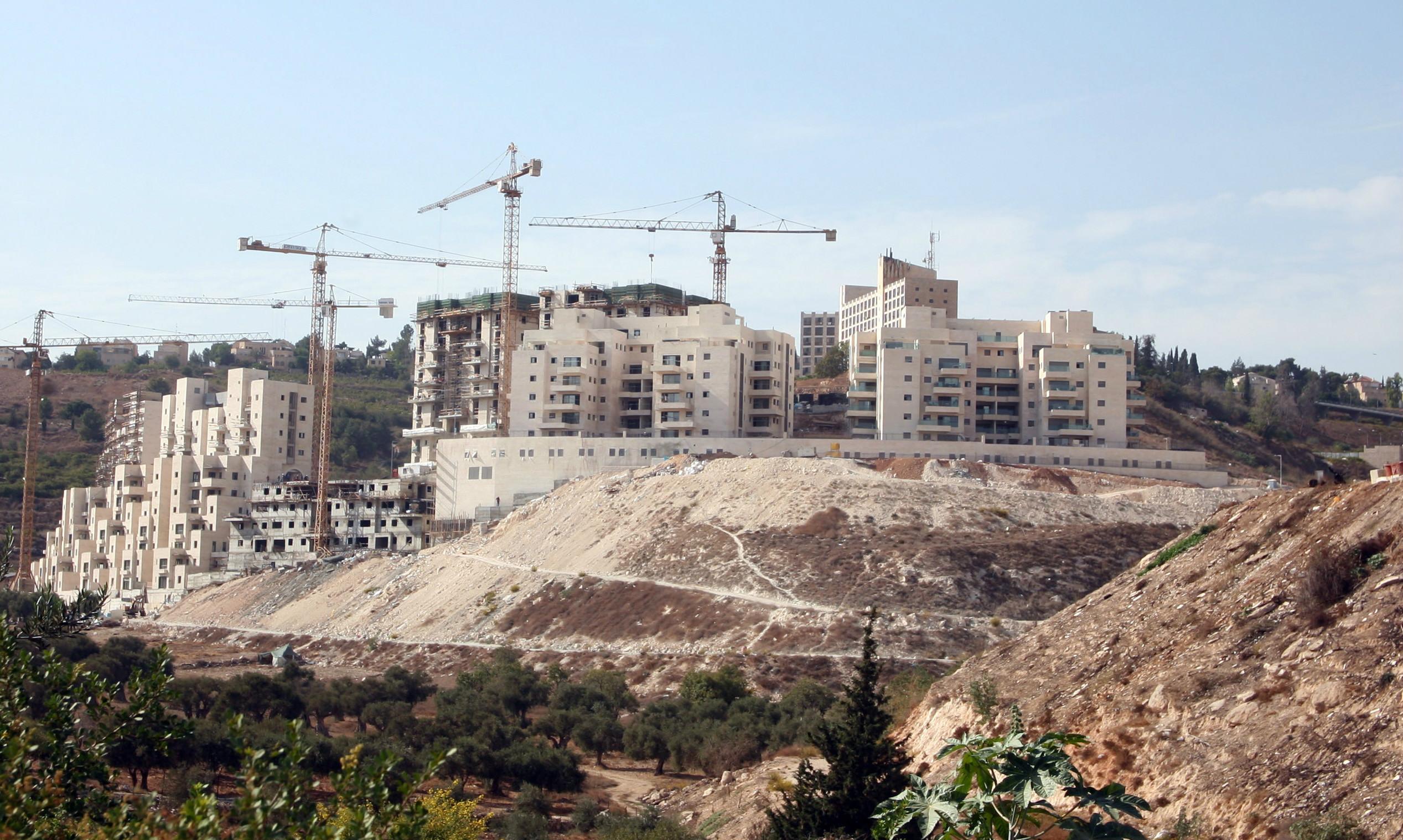 Filistin topraklarındaki gayrimeşru İsrail yerleşimleri