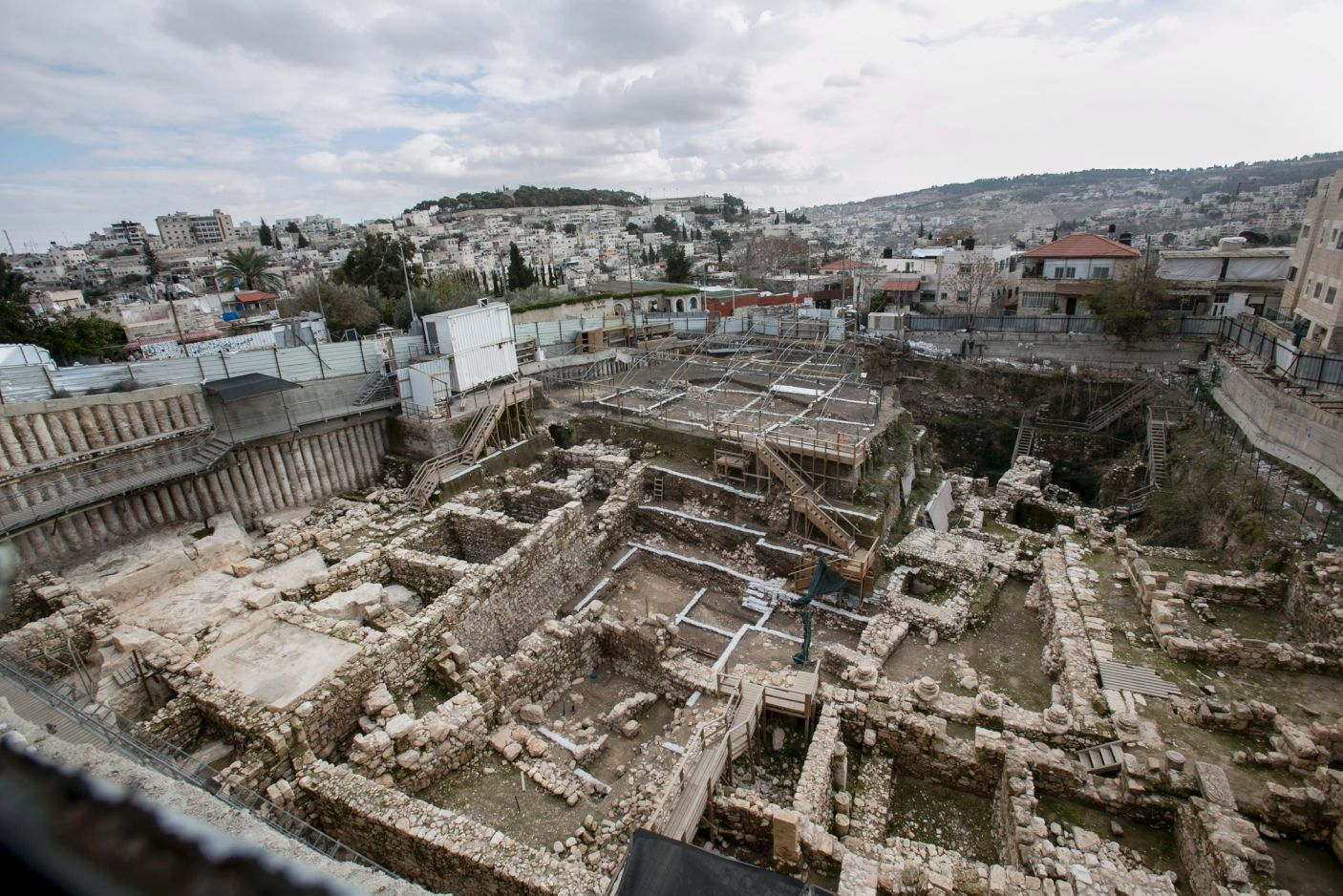 Kudüs'te arkeolojik çalışmalar